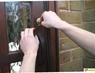 Самостоятельно открыть дверь